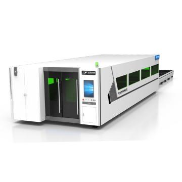 Machine de découpe laser à fibre fermée
