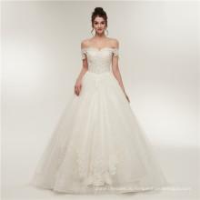Роскошные кружева длина пола свадебное платье бальное платье милая свадебное платье платья 2018
