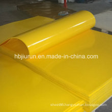 Shore a 90 PU Yellow Sheet From China Manufacture