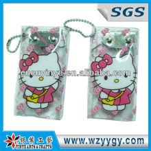 Werbe Cartoon Schlüssel Tasche mit Hello Kitty Schule