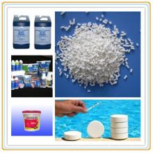 Дихлоризоцианурата натрия для питьевой воды дезинфицирующим химическим (СОВК)