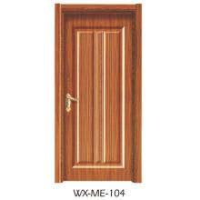 Niedriger Preis Ausgezeichnete Qualität Hotsale Melamin-Tür (WX-ME-104)