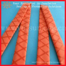 Полиолефинов красного цвета термоусадочной нескользящие трубопровод
