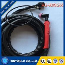 AG60 SG55 plasma tocha de plasma de plasma Torch AG60 SG55 Venda directa de fábrica