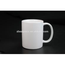 2016 Nueva taza de cerámica en blanco de la sublimación 11oz del diseño de la venta caliente