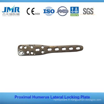 Plaque de verrouillage latéral de l'humérus proximal Plaque plaquette orthopédique