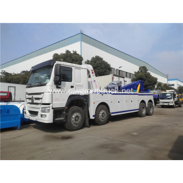 8x4 Heavy Road Wrecker Towing Truck for sale