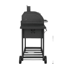 bbq grill table bbq rotisserie bbq kitchen Square trolly charcoal grill