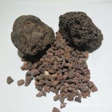 Medios filtrantes de roca volcánica para el tratamiento de aguas residuales domésticas