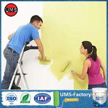 Acrylic latex enamel elastomeric house paint