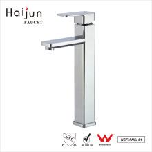 Haijun nuevo a estrenar manija contemporánea lavabo grifo mezclador termostático