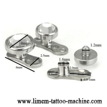 Anclajes dérmicos de titanio [DA-002]