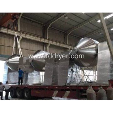 Powder Granule Double Cone Mixer Use in Pharmaceutical