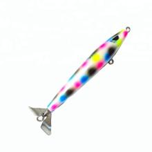 STB001 15cm bois blanc appât artificiel bâton de pêche appâts en leurre de pêche