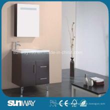 Gloss Painting MDF Móveis de banheiro com pia