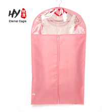 Personalised foldable breathable non woven suit cover garment bag