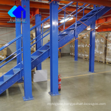Prefabricated steel warehouse,Adjustable shelving unit warehouse mezzanine and platform
