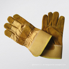 Golden Cow Split Leder Voll Thinsulate Winter Handschuh-3071