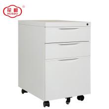 Huadu group 3 gaveta pedestal metal móvel armário de arquivamento