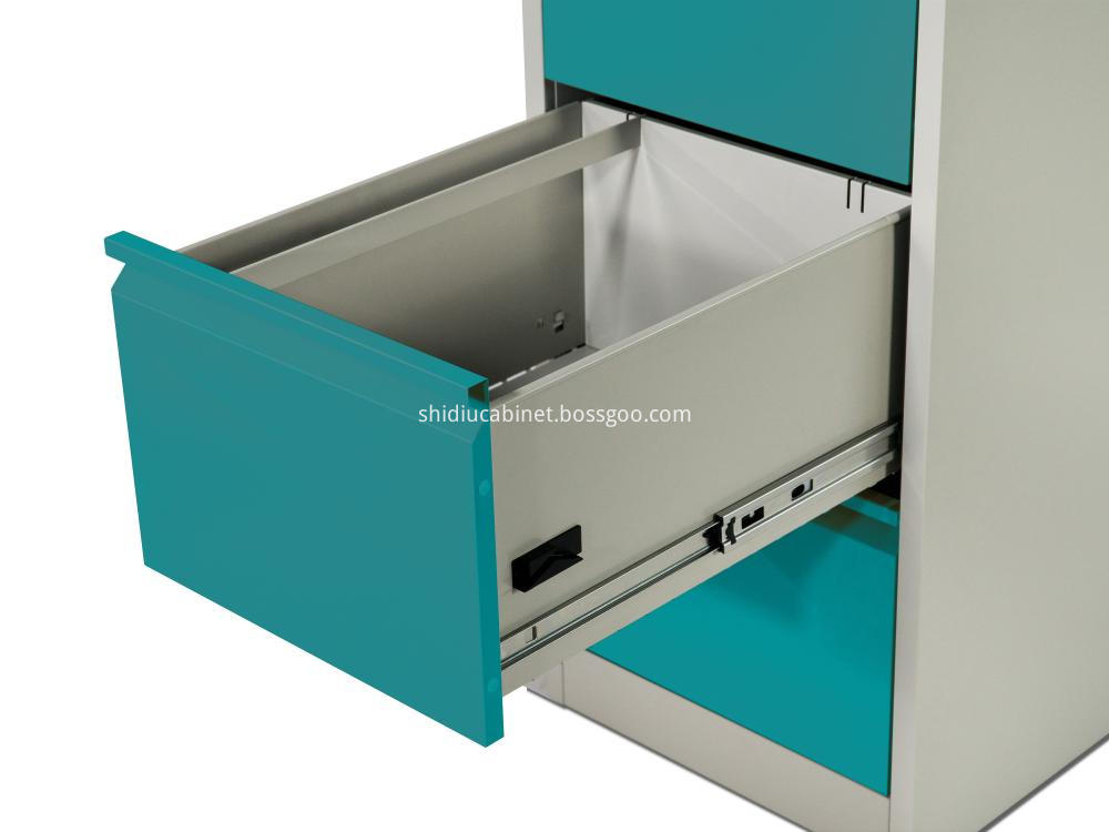 4 Drawer Metal Vertical Cabinets 4
