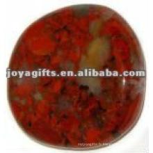Red Jasper Worry stone thumb