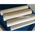 Tubo de cerámica del tubo del alúmina del aluminio del aislamiento del termopar del 60% Al2O3 del precio de fábrica