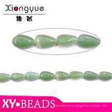 Зеленый авантюрин Waterdrop ювелирные бусины и камни оптом