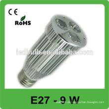 Aluminium E27 führte Spot Lichter Büro verwendet meistverkauften Produkt