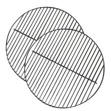 Rede de grade para churrasco de malha de arame para churrasco antiaderente