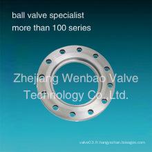 Bride en acier inoxydable pour valve à papillon Specialy Used