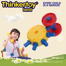 Juguetes educativos del rompecabezas del juguete de DIY 3D