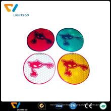 etiqueta personalizada por atacado colorida do vinil, impressão reflexiva da etiqueta de 3m
