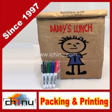 Wiederverwendbare, isolierte Tyvek Lunch Bag - enthält 4 Mini Permanent Marker - ideal für Büro Geschenke (210220)