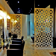 Partisi Laser Cut Metal Room
