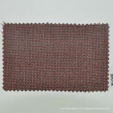 Tissu en laine marron clair fait sur mesure pour homme d'affaires
