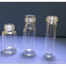 Flacons en verre Mini clair tubulaire 5ml pour l'emballage de la pilule