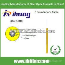Cable de fibra óptica de interior de 0,6 mm