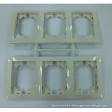 Plugue de plástico e molde de soquete / molde