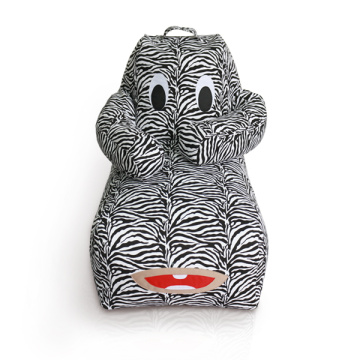 Animal Pattern kinder zitzak luie fauteuil