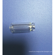 Embalaje de muestras mini Tubular clara de vidrio frasco de Perfume