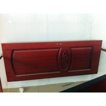 Puerta de madera sólida de nogal rojo