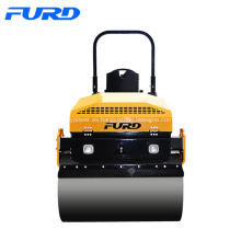 Compactador de rodillos de carretera diesel de 3 cilindros