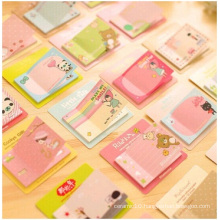Little Creative Sticky Notes, Wholesale Cartoon Sticky Notes for Gift.