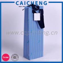 Geschenkverpackungsbeutel des unterschiedlichen Farbpapiers kundenspezifische mit haddle