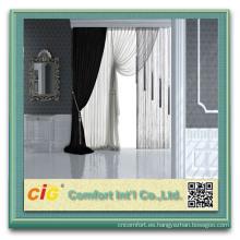 Tela de la cortina de ducha del poliester para ventana