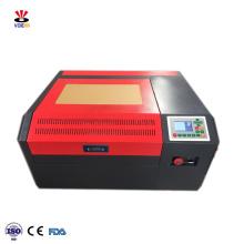 4040 400*400 MM  40W Ruida co2 mini desktop laser engraving and cutting machine