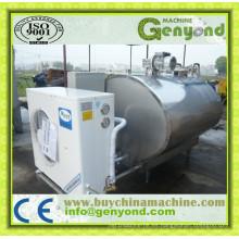 Tanque de leche de acero inoxidable para procesamiento de leche