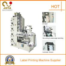 Self Adhesive Label Sticker Flexographic Machine