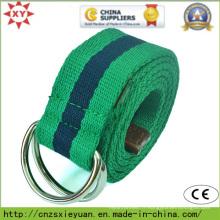 Ceinture en tissu pour unisexe, ceinture courante de couleur populaire