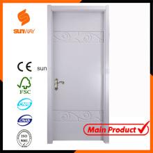 Wood Solid Wooden Door Fancy Door with Certificate